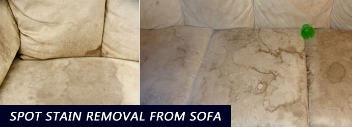Spot Stain Removal From Sofa Box Head