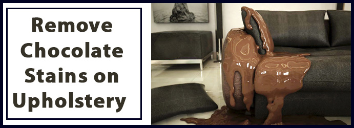 Remove Chocolate Stains on Upholstery